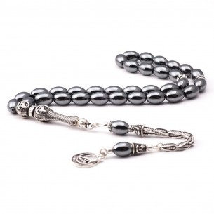 Moon Star Sterling Silver Prayer Beads