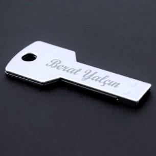 Kişiye Özel Anahtar Şeklinde USB 16GB Bellek