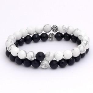 Havlit & Onyx GemStones Bracelet
