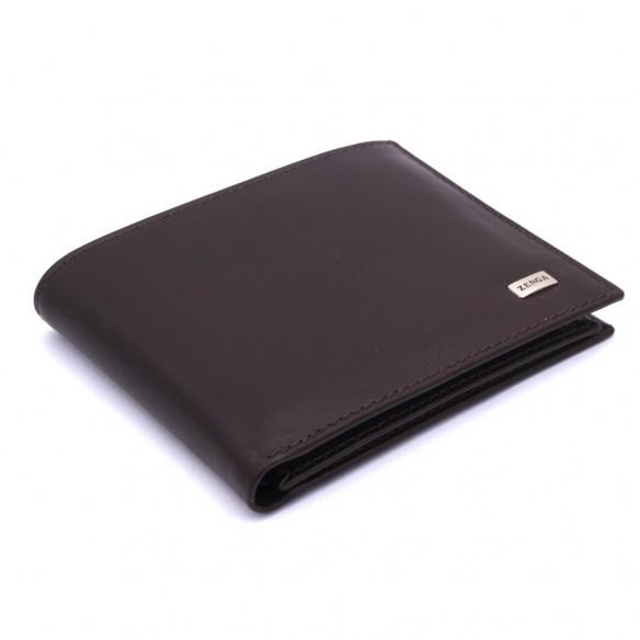 Brown Ergonomic Leather Wallet