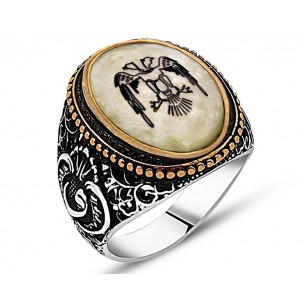 Ring in Sterling Silver with  GemStone