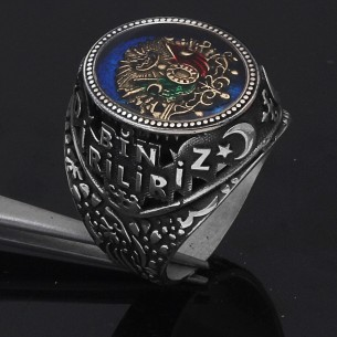 Ottoman Ring in Sterling Silver