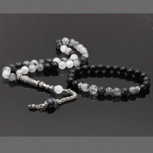 Quartz Prayer Beads Bracelet Set
