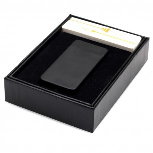 Personalised Arc Lighter USB Electric Dual Rechargeable Flameless Engraved Gift Box